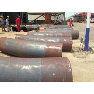 Mittelfrequenz Induktionserwärmung Stahl X52 Rohr biegen
