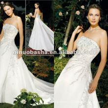 Ebrodery С Плеча Свадебное Платье