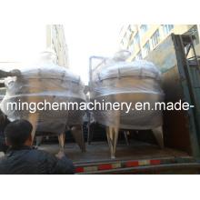 Réservoirs de 500 litres de chauffage à la viande en SUS304