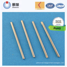 China Supplier CNC Machining Aircraft Model Shaft with Plating Nickle