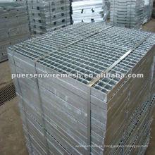 Rejilla de acero galvanizado caliente AS1657-1988