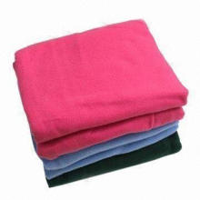 100% Cotton Convenient Fleece Blanket, Stays Warm and Comfy, Makes Perfect Gift