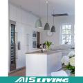 UV Finished Modern Design Küchenschrank mit Insel Made in China (AIS-K971)