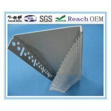 El perfil de la esquina del PVC de la alta calidad con la malla de la fibra de vidrio hace al OEM