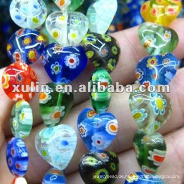 hochwertige verschiedene Formen Lampwork Glasperlen für Schmuck machen