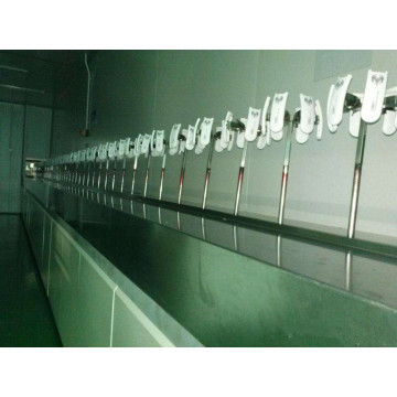 MDF autoamtic UV painting production line