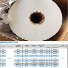 0.3 Micron Fiberglass Hepa Filter Paper
