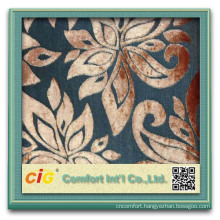latest design cut pile fabric for sofa and furniture flower designs fabric painting