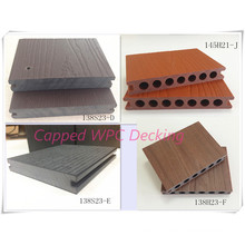 Anti-Crack WPC 23mm Thick Decking New Skirted Shielded Wood Surface