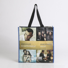 promotional bag with holder shopping bag foldable bag