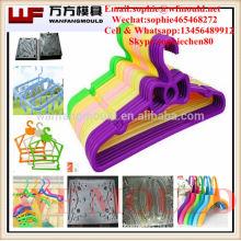 plastic coat hanger mould made in China/OEM Custom plastic injection coat hanger mold making