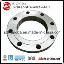 Dessins forgés adaptés aux besoins du client par haute pression DIN de brides d'acier au carbone