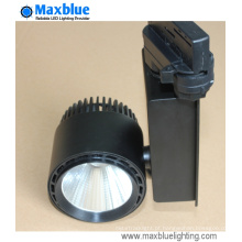 Dimmable LED COB Track Light com ventilador