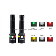 Rechargeable CREE red,green ,white led coon hunting light