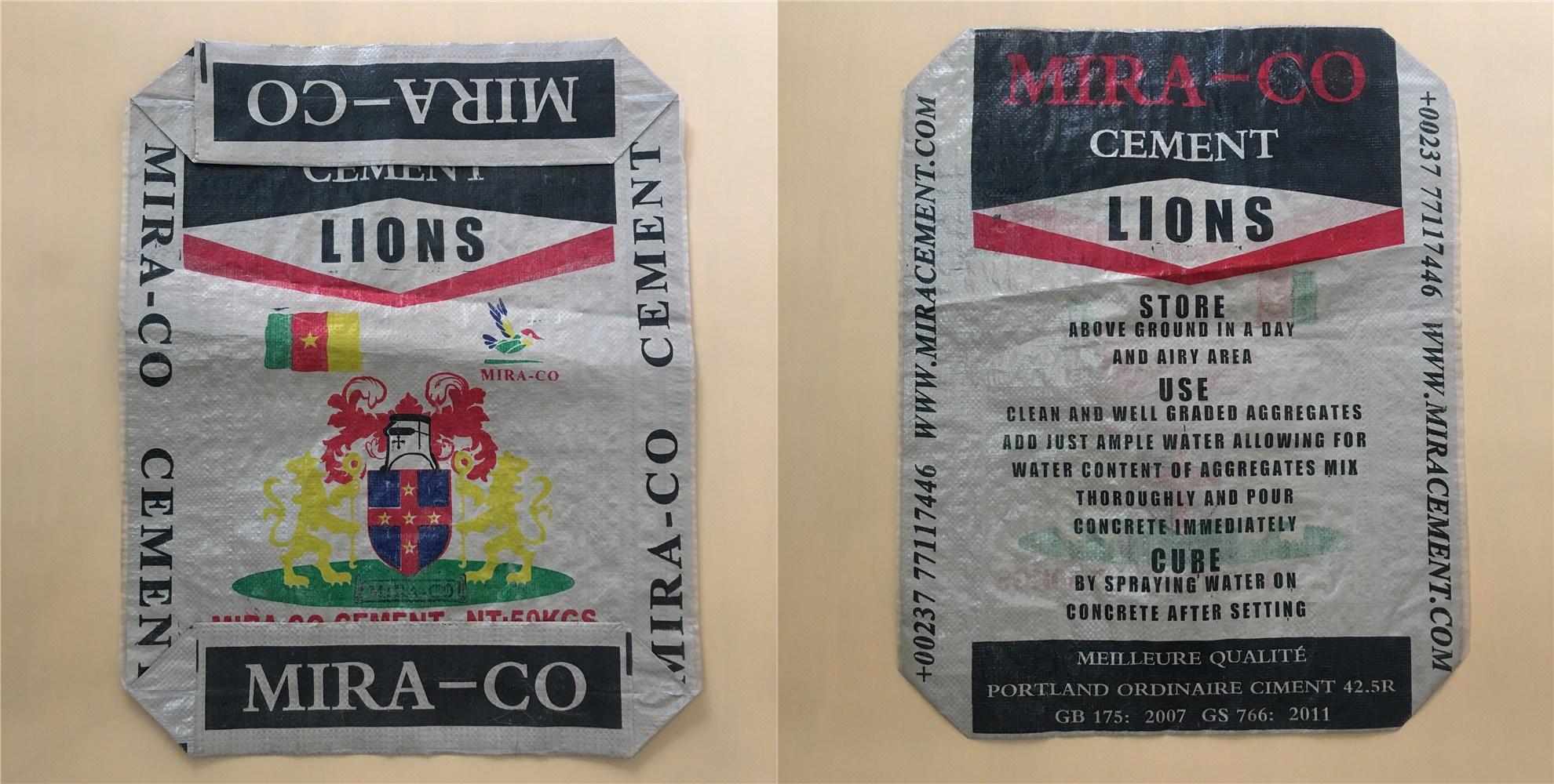 polypropylene cement bags