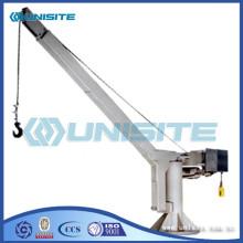 Boat steel crane davits
