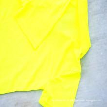 T-shirt de manga curta com gola quadrada
