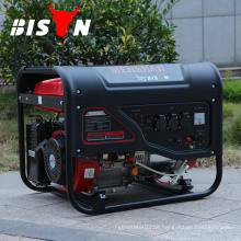 BISON (CHINA) Tragbarer batteriebetriebener Benzingenerator 4kv 4kva