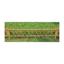 Bamboo style Wrought iron wire mesh fence garden