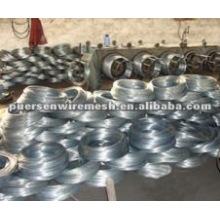 soft silver Electro galvanized wire