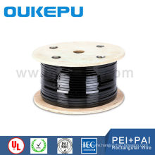Colombia market awg8 enameled copper square wire for transformer