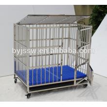Gute Qualität 304 Edelstahl-Hundehütte für Verkauf