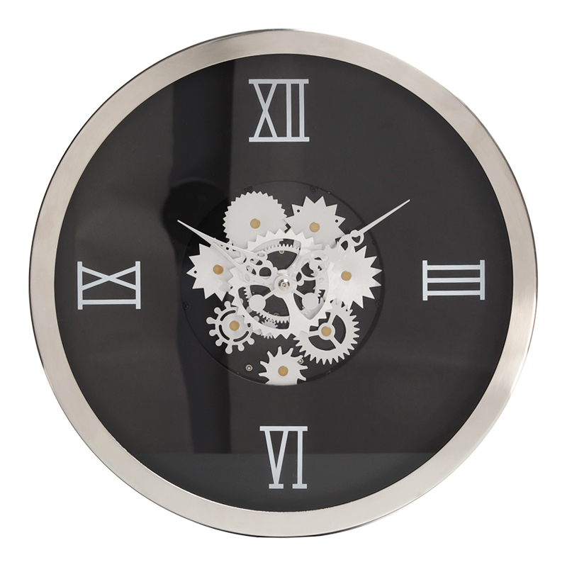 Large Metal Clock