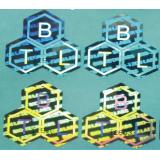 Waterproof serial number hologram labels