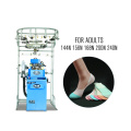 China factory RB-6FP brand sock knitting machine for making cotton safety working socks