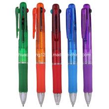 G6070 bolígrafo promocional multicolor con 4 colores