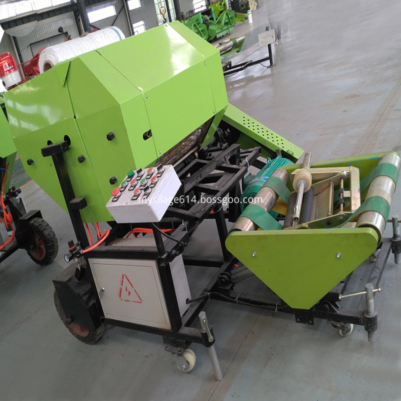 multiple layer bale machine