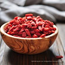 Bayas bio goji con cero pesticida / low sugar Chinese wolfberry en Ningxia