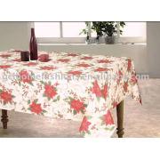 Poinsettia table cloth