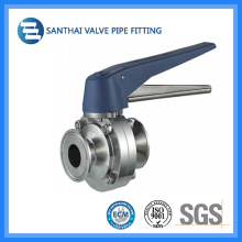 Chouthai Sanitary Stainless Steel Clamp Butterfly Valve