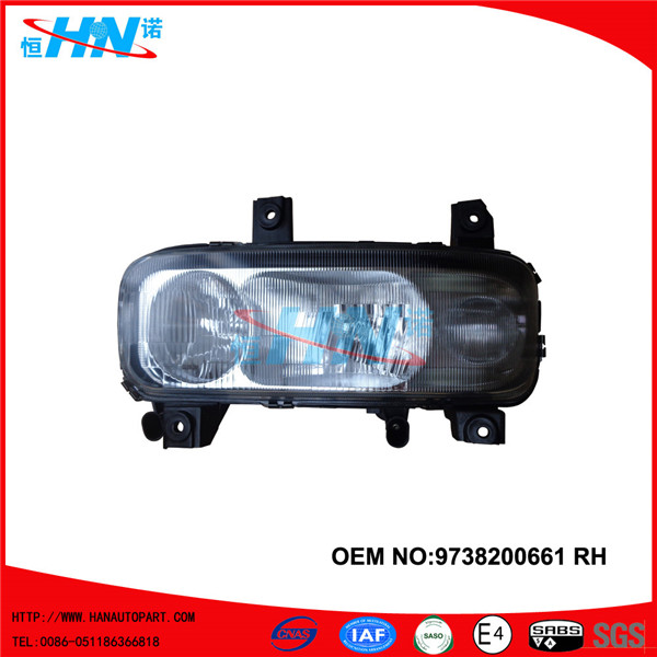 Head Lamp With Fog Lamp
