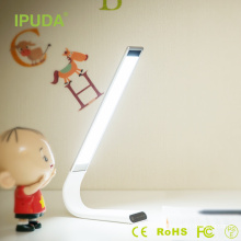 China USA Patented portable micro usb light with rechargeable battery touch panel