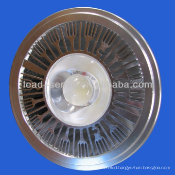 dimmable AR111 qr111 COB 220V GU1010w led spot ceiling light