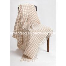 Шерстяной бахромой шерсть туристической броска (NMQ-WT045)
