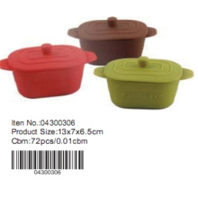 13*7cm Silicone Cake Mould with lid