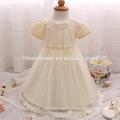 Девочки младенческой Крещение платья для крещения младенца одежда Белый малышей крещение платье