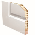 2 Panel White Primed Ready for Paint Molded Door