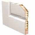 2 painel branco preparado pronto para pintura porta moldada