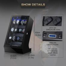 Touchscreen Watch Winder Box Display