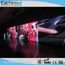 La etapa llevó la echada interior del pixel de la pantalla 3m m llevó la pared video