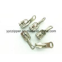 Slider do fechamento do slider de 5 # Reversible auto para o zipper do metal