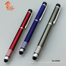 Pluma del bolígrafo del logotipo del diseño con la aguja para el iPad