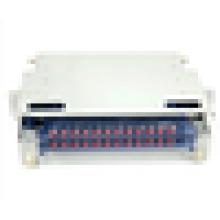 24ft odf, 19 pouces monté sur rack 3U ODF 24core, ST sc adaptateur cadre de distribution