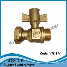 Brass Ball Valve for Water Meter (V18-814)