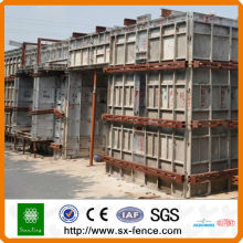 Sistemas de cofragem de concreto em alumínio