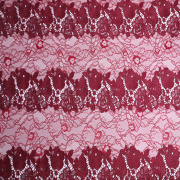 Milky Yarn Chemical Lace Embroidery Fabric